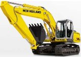 New Holland E215B, E245B