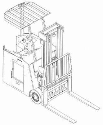 Yale Electric Forklift Trucks Service Maintenance Repair Workshop