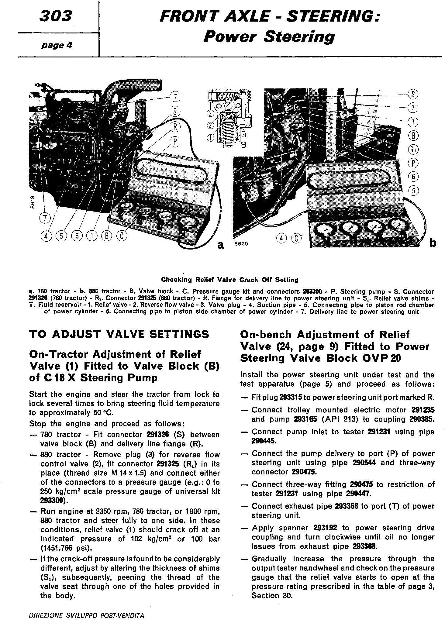 Fiat 780, 780DT, 880, 880DT Tractor Workshop Service Manual (6035420100) - 2