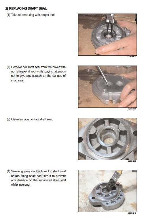Hyundai 20BC-7, 25BC-7, 30BC-7, 32BC-7 Electric Forklift Truck Workshop Service Manual - 3
