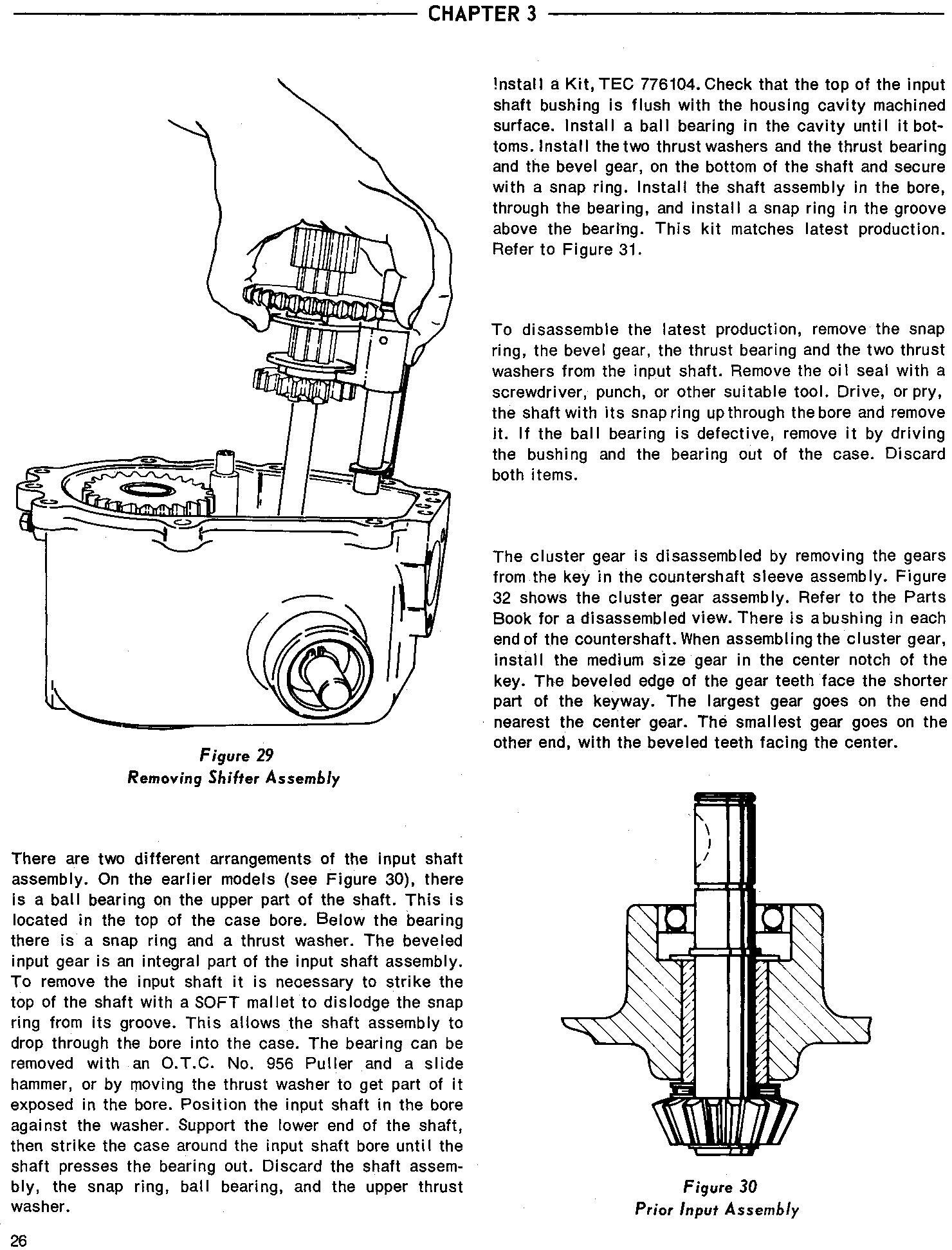 Ford Tractor 70 75 Lawn Tractor Service Manual (SE3240) - 2