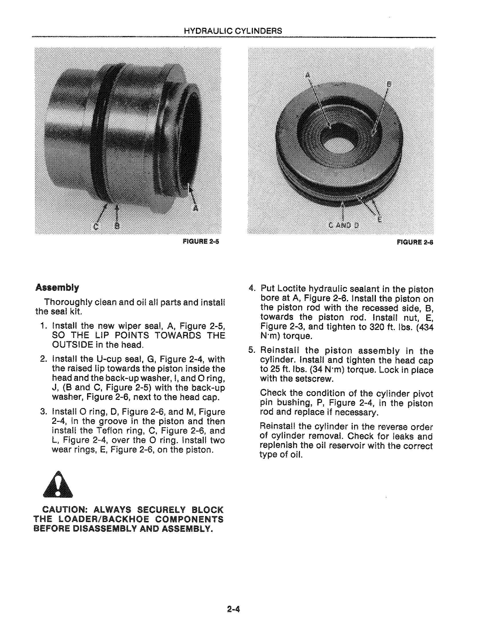 New Holland LB620 Backhoe Loader Service Manual - 1