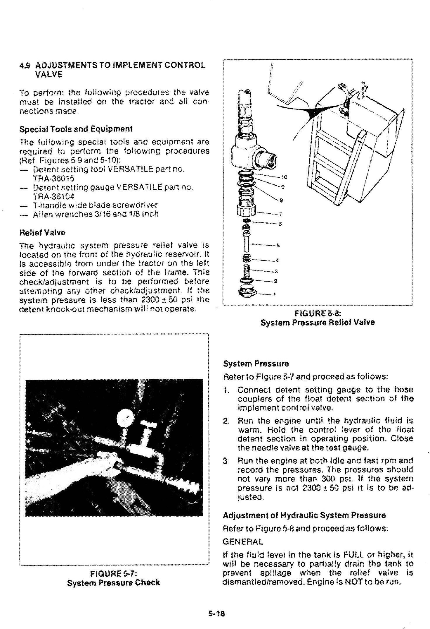 Ford Versatile 700, 750, 800, 825, 850, 900, 950 4WD Tractor Series2 (1977) Service Manual (PU4001) - 3