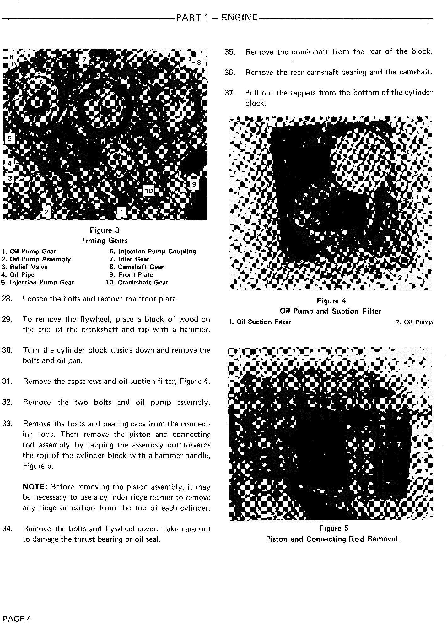 Ford 1000, 1600 Tractor Service Repair Manual (SE3414) - 1