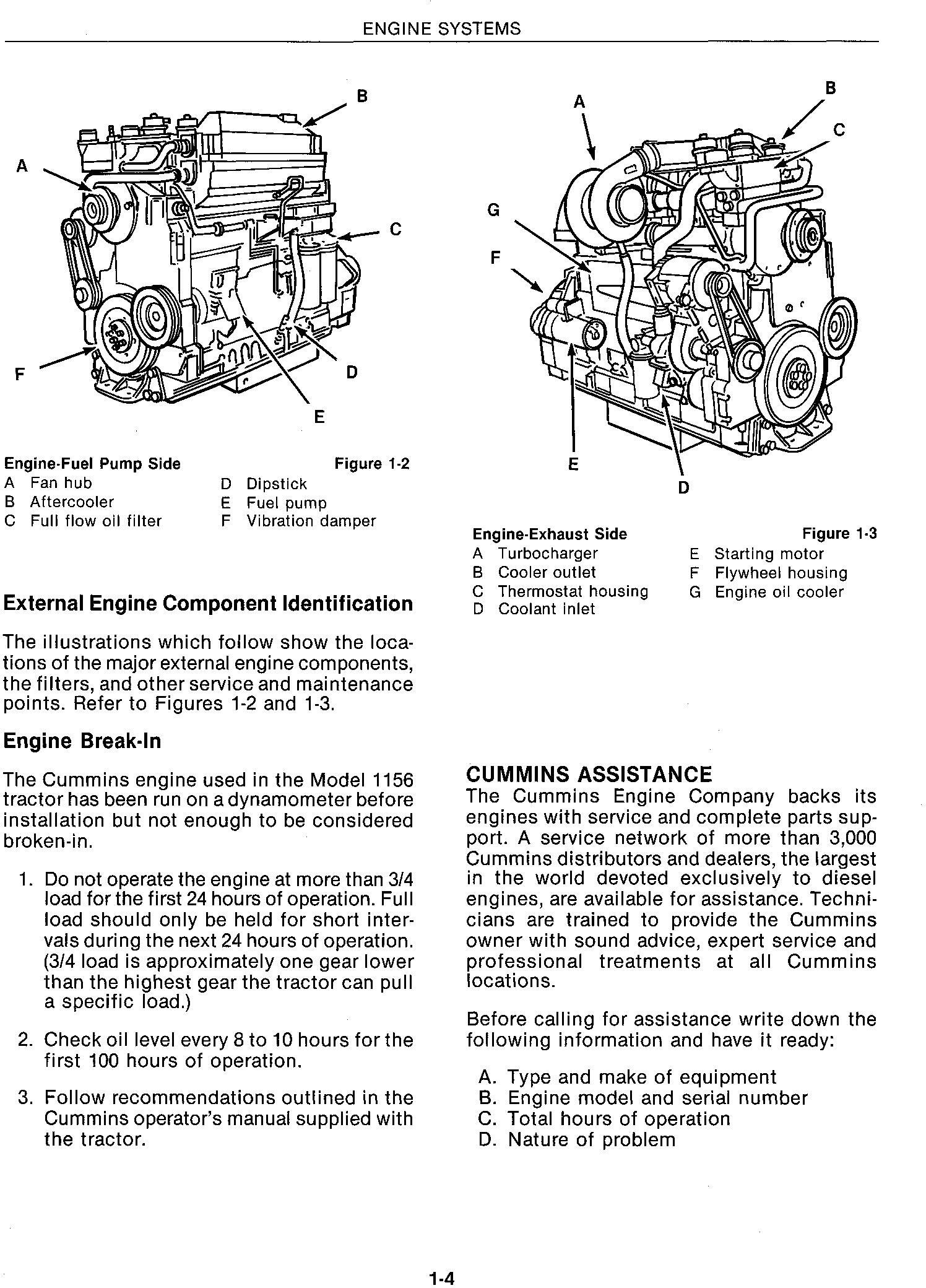 Ford Versatile 1156 Tractor Complete Service Manual - 2