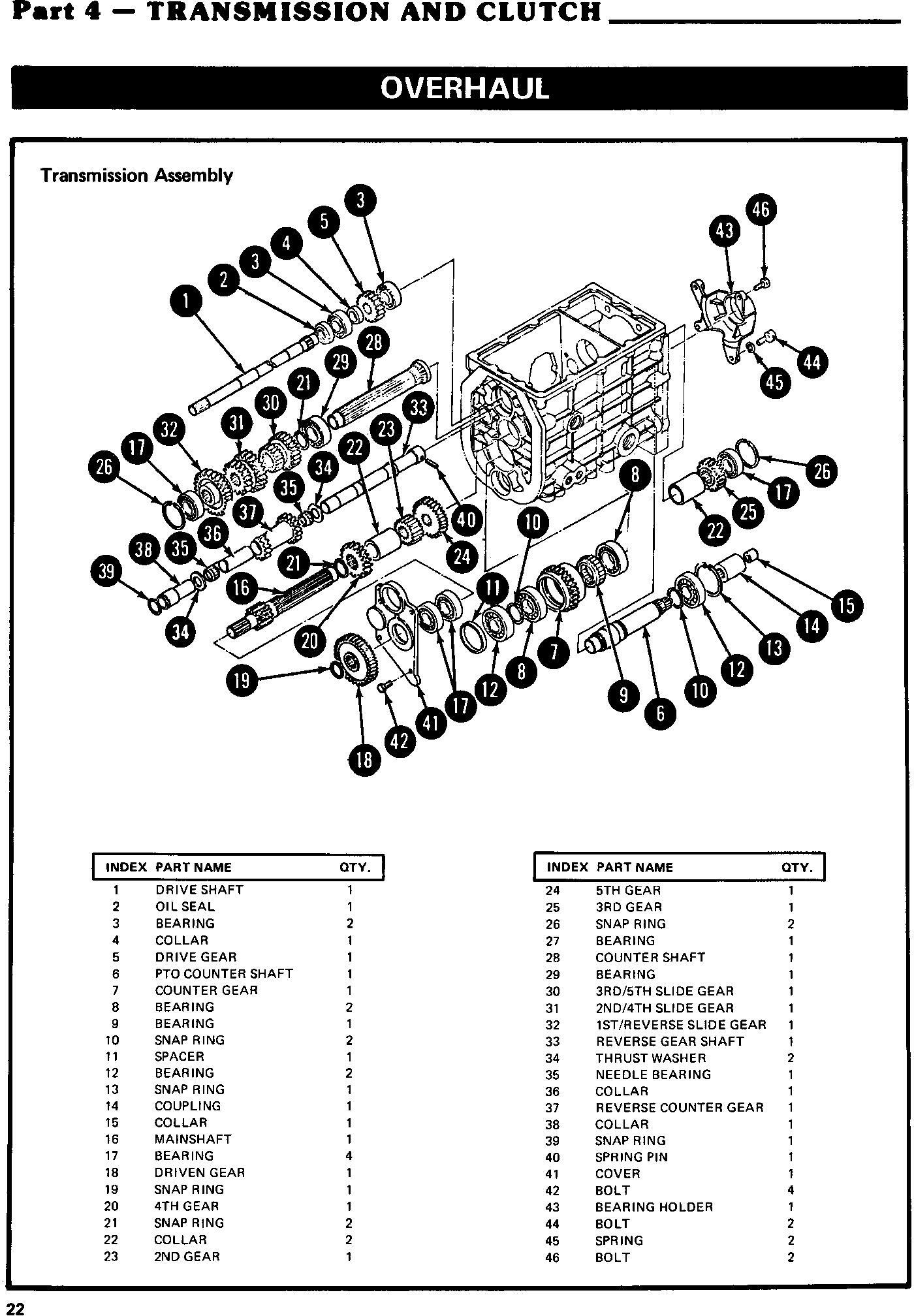 Ford 1100, 1200, 1300, 1500, 1700, 1900 Tractor Complete Service Manual (SE3771) - 3