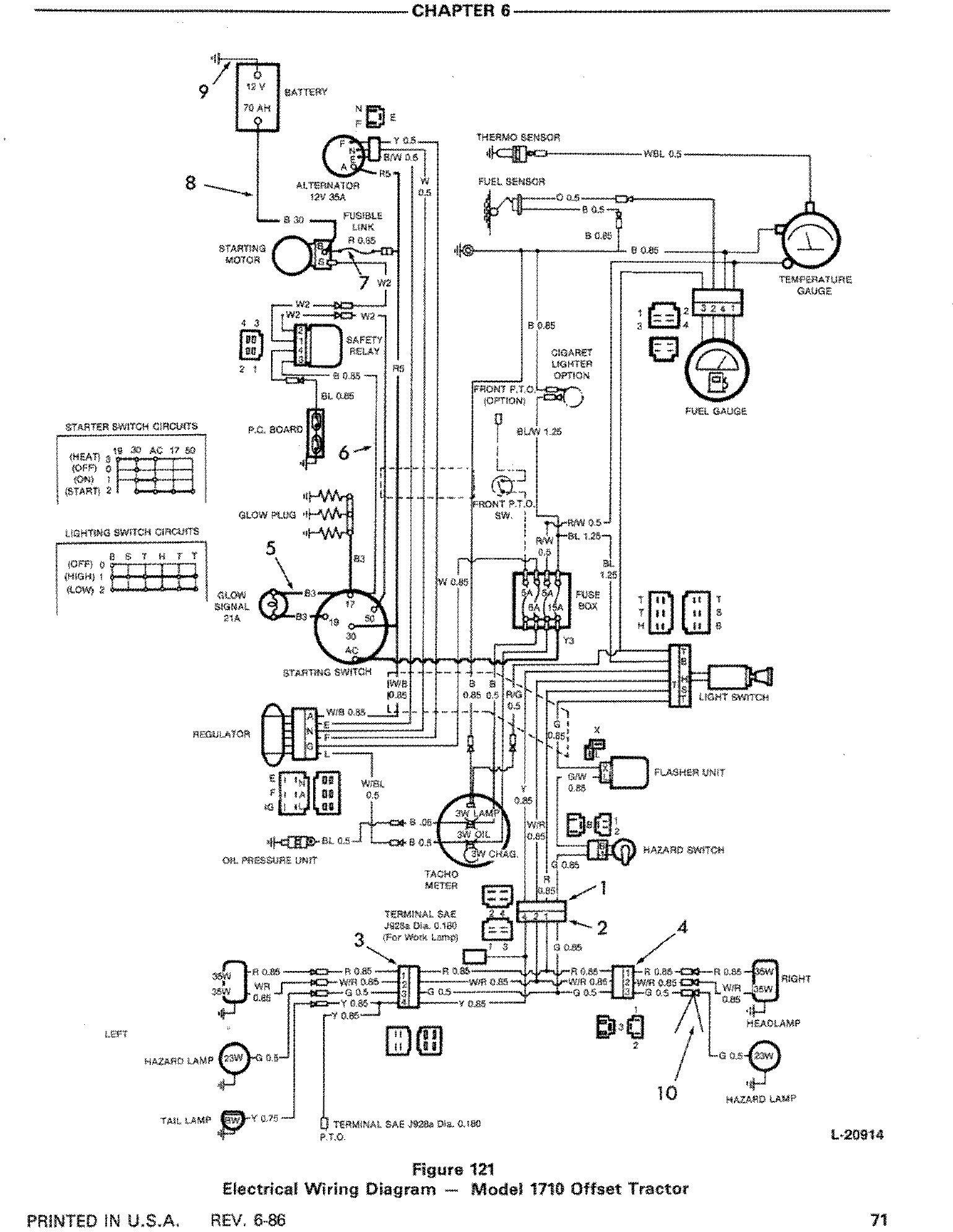 New Holland Ford 1310, 1510, 1710 Tractor Comlete Service Manual (SE4301) - 3