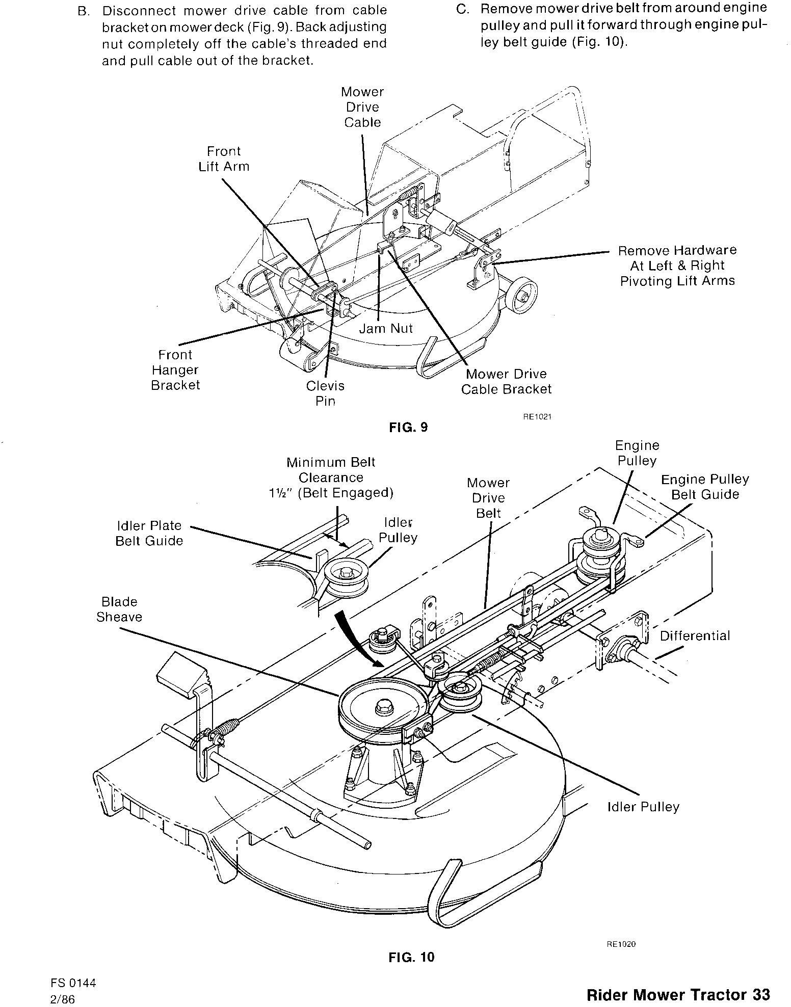 Ford 09GN-2051/2052/2053 / 2054/2055/2056 Riding Mower Tractor Service Repair Manual (SE4363-4) - 1