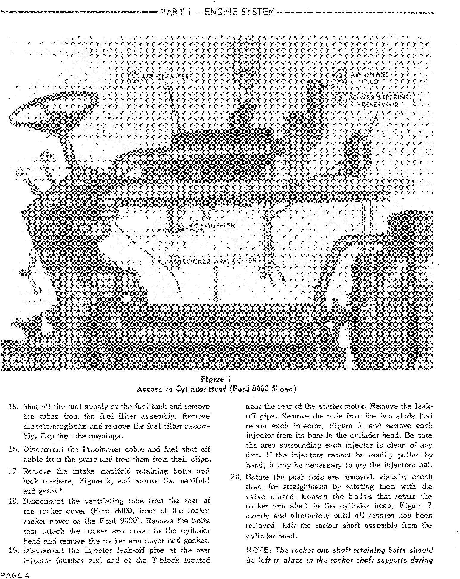 Ford 8000, 9000, 8600, 9600 Tractor Service Repair Manual (SE3095) - 1