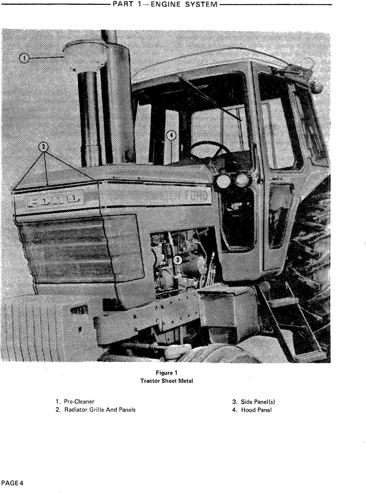 Ford 8700, 9700 Tractor Service Repair Manual (SE3700) - 1