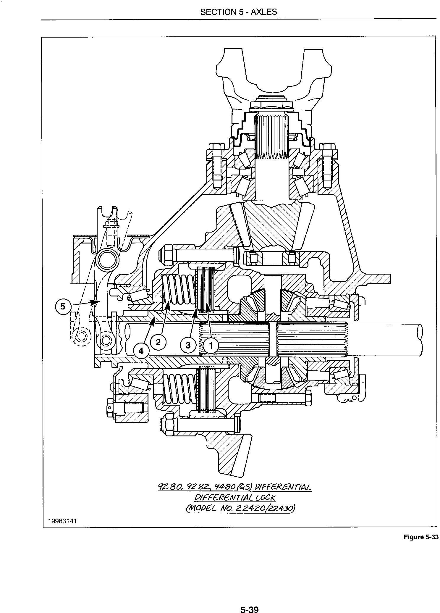 Ford 9280,9480,9680,9880,9282,9482,9682,9882 Complete Tractor Service Manual - 2