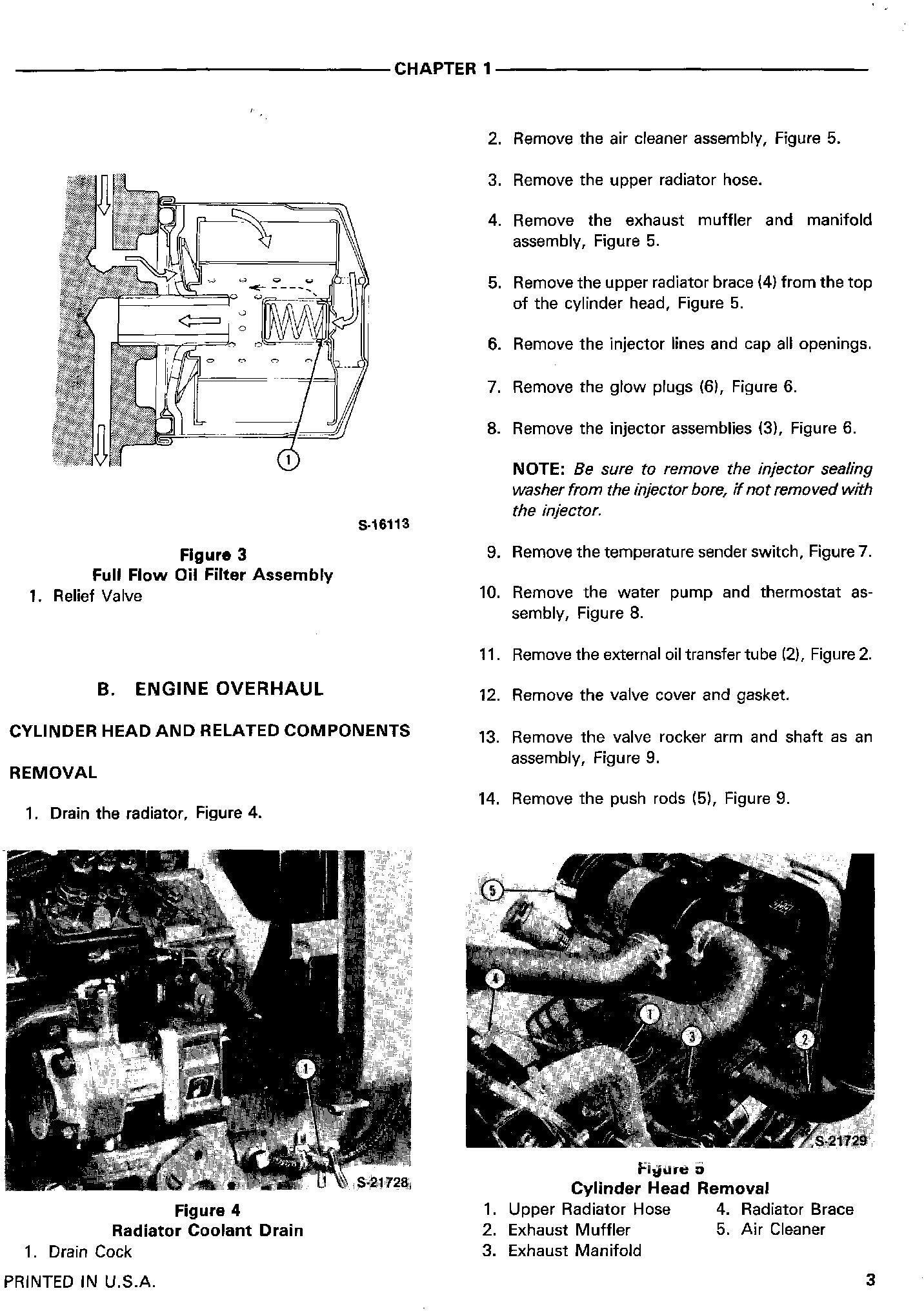 Ford 1120, 1220, 1215 Tractors Service Manual (SE4601) - 1