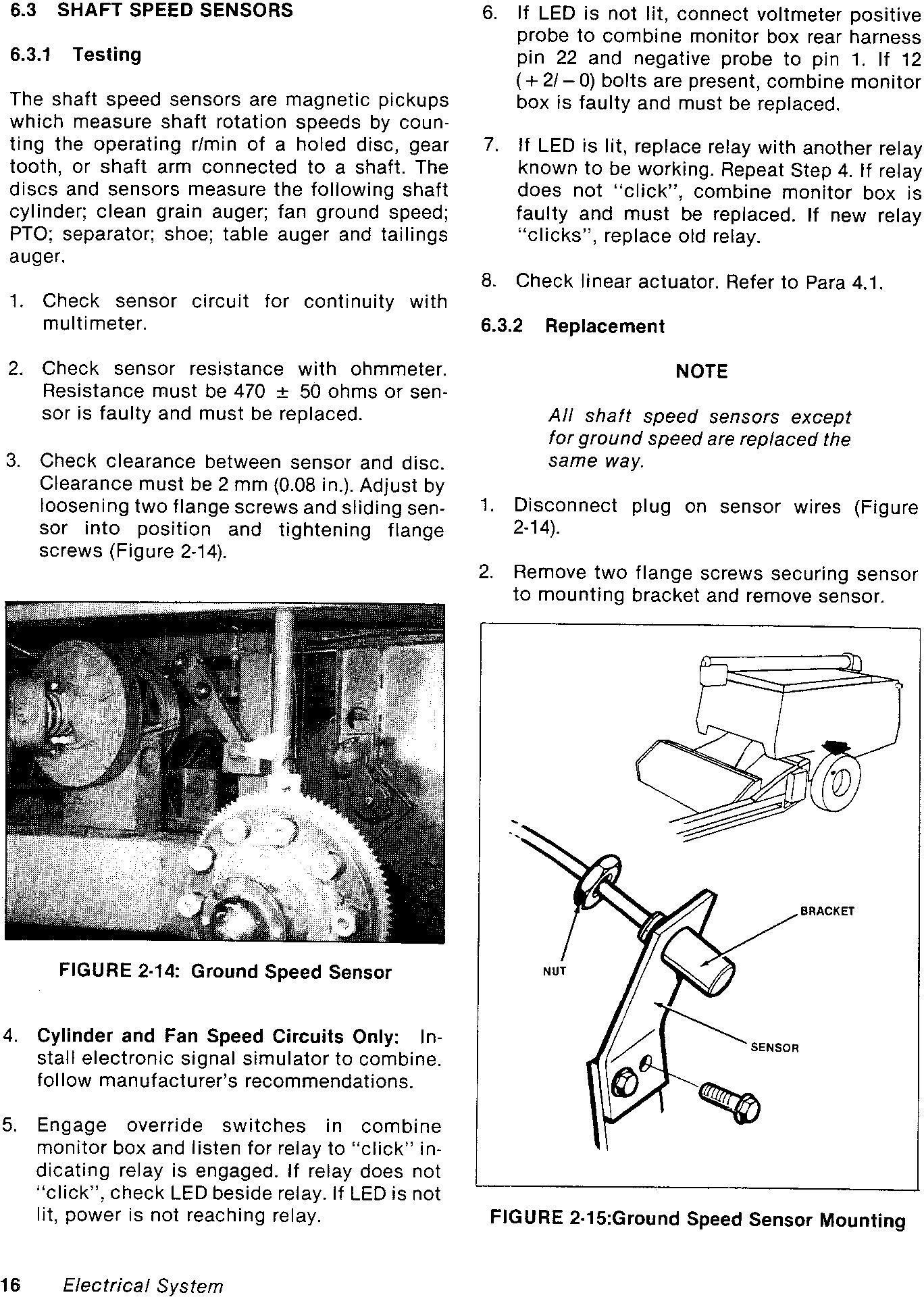 New Holland Versatile 2000 Combine (1985) Service Manual - 2