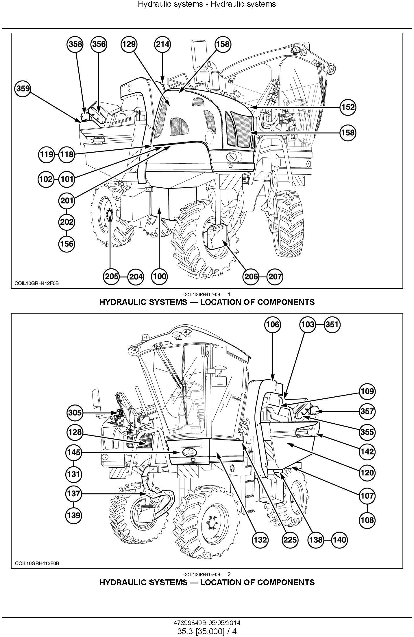 New Holland 9090X Grape Harvester Service Manual - 1
