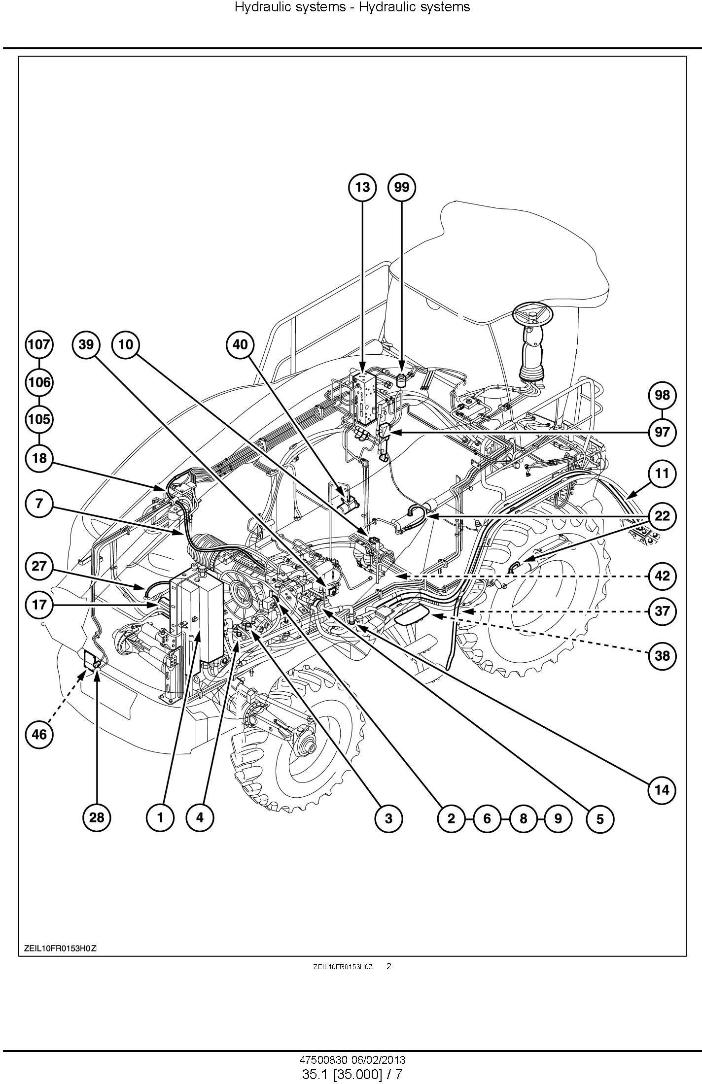 New Holland FR9040, FR9050, FR9060, FR9080, FR9090 Forage Harvester Complete Service Manual - 3