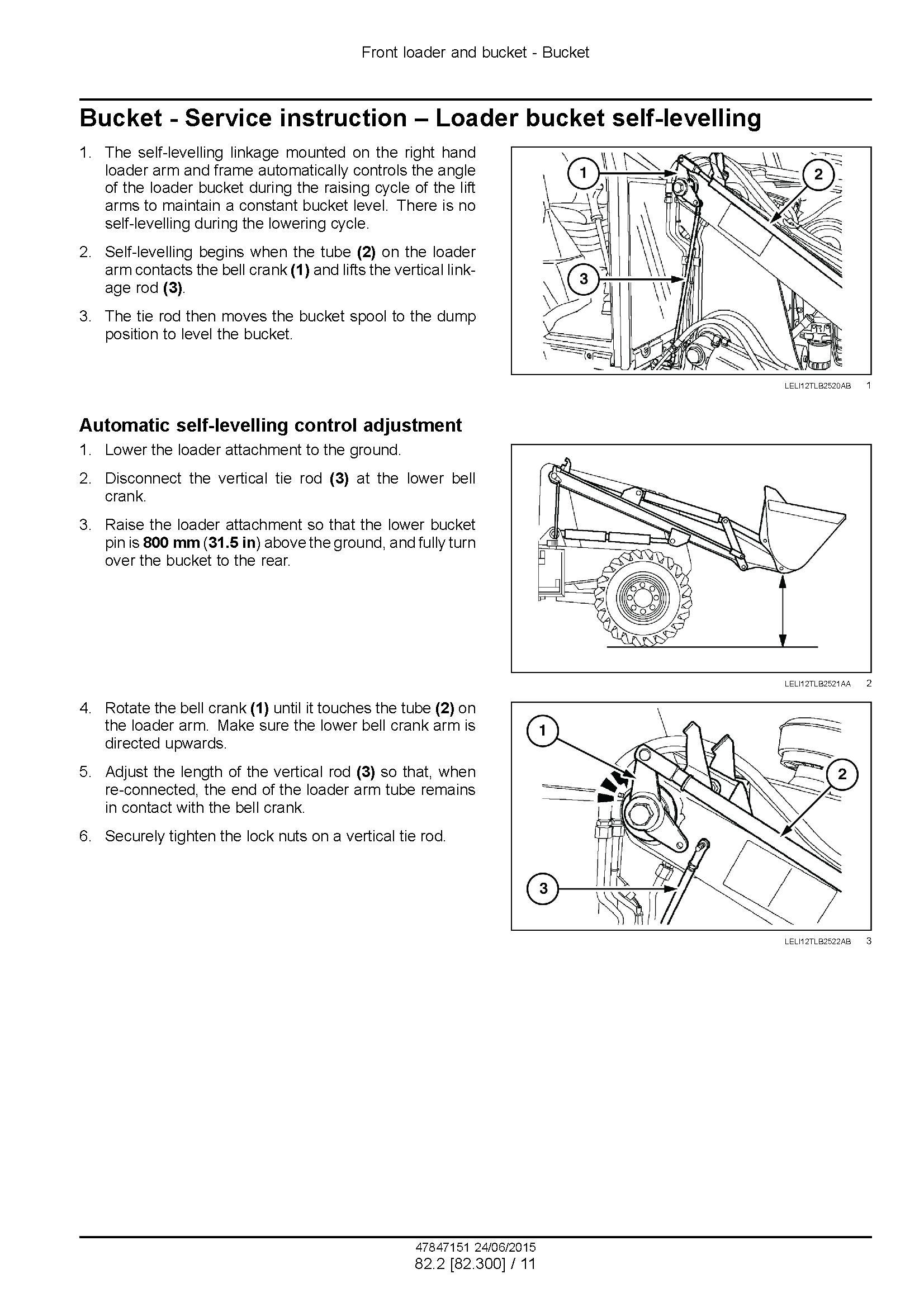 New Holland B100C, -LR -TC, B110C TC, B115C Stage III B Tractor loader backhoe Service Manual - 1