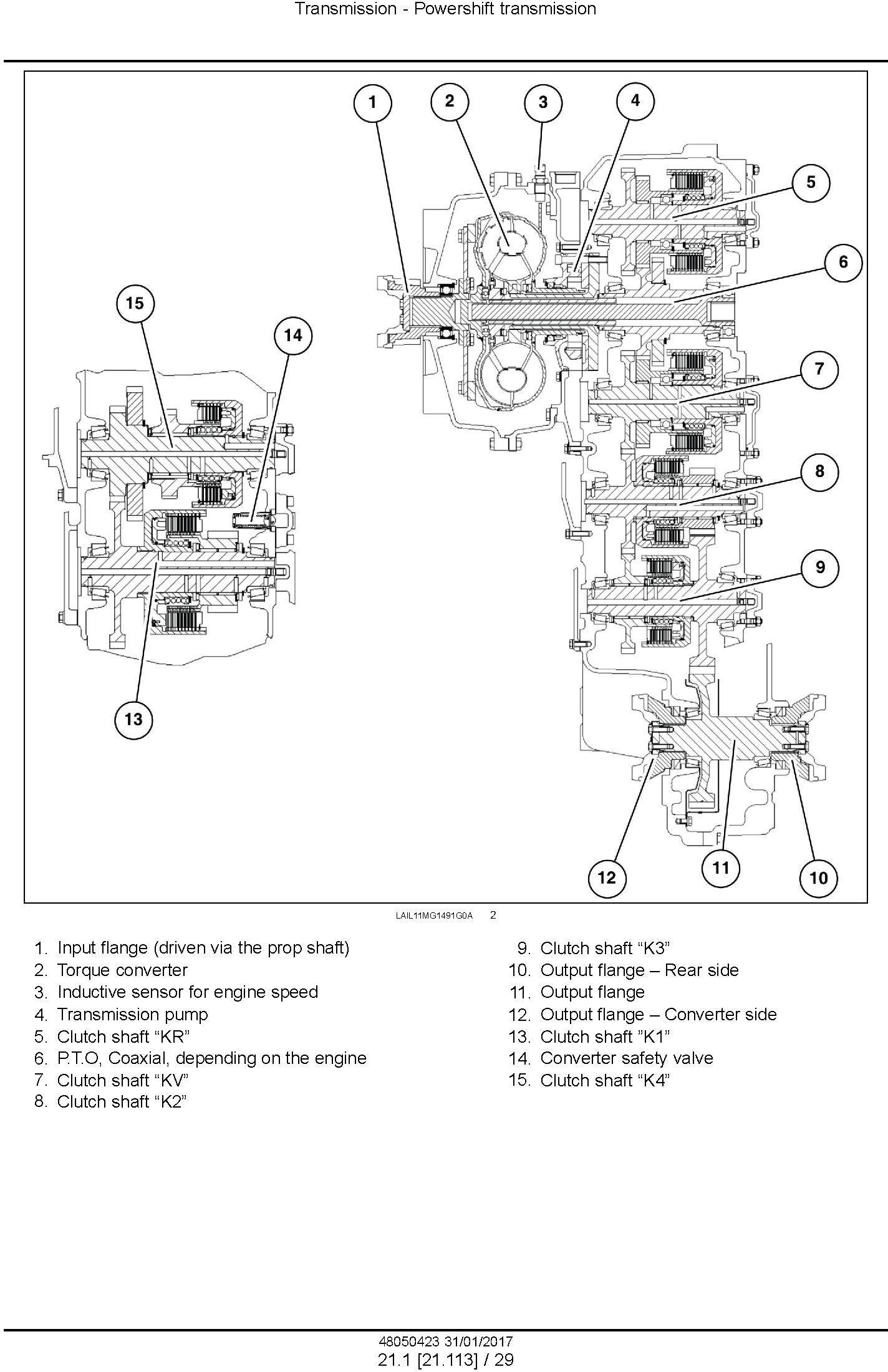 New Holland RG140.B, RG170.B, RG200.B Motor grader Service Manual (Brasil) - 3