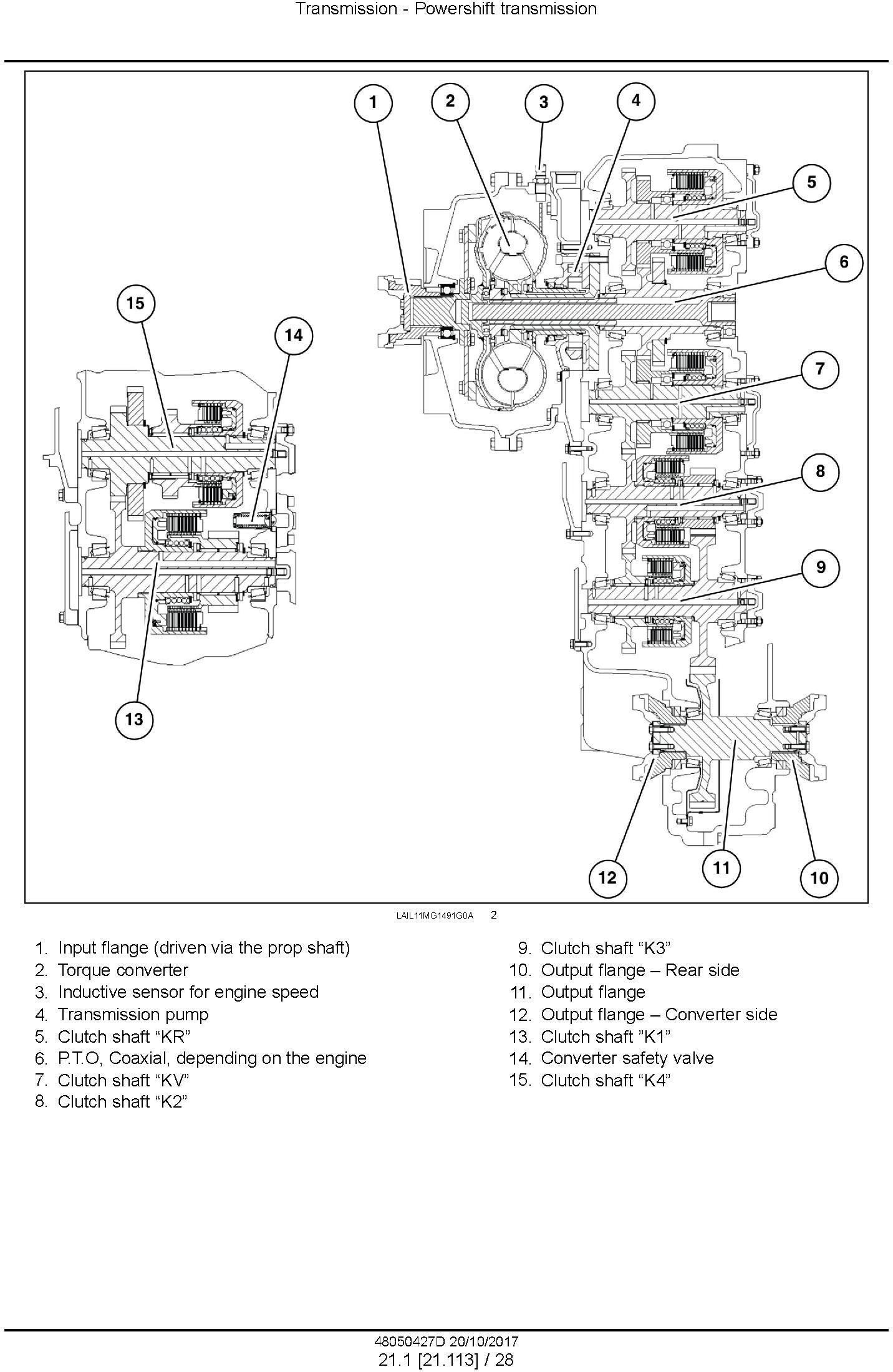 New Holland F140B VHP, F170B VHP, F200B VHP Motor Grader Service Manual - 2