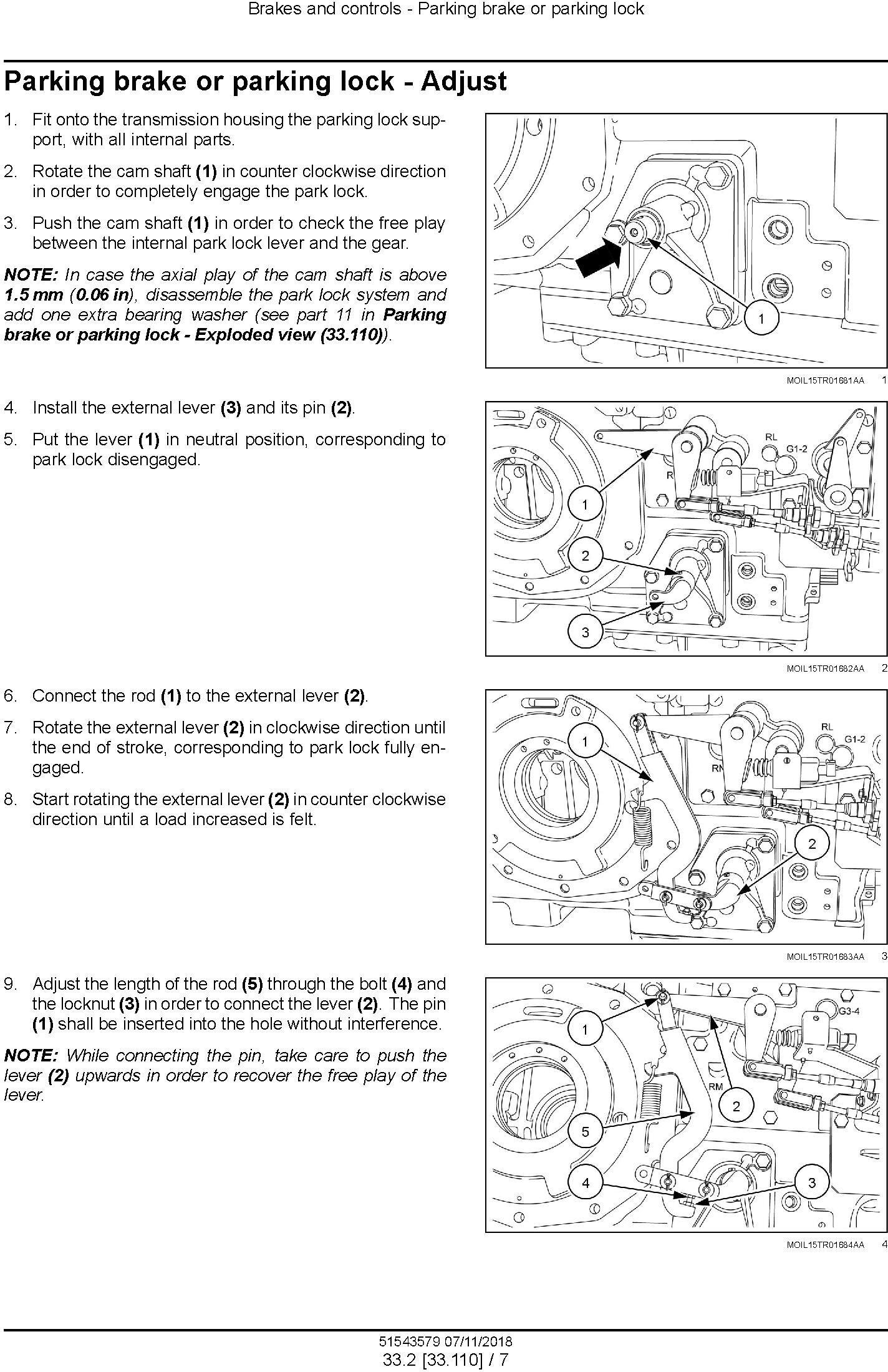 New Holland T5.90, T5.100, T5.110, T5.120 Tier 4B (final) Tractor Service Manual (North America) - 3
