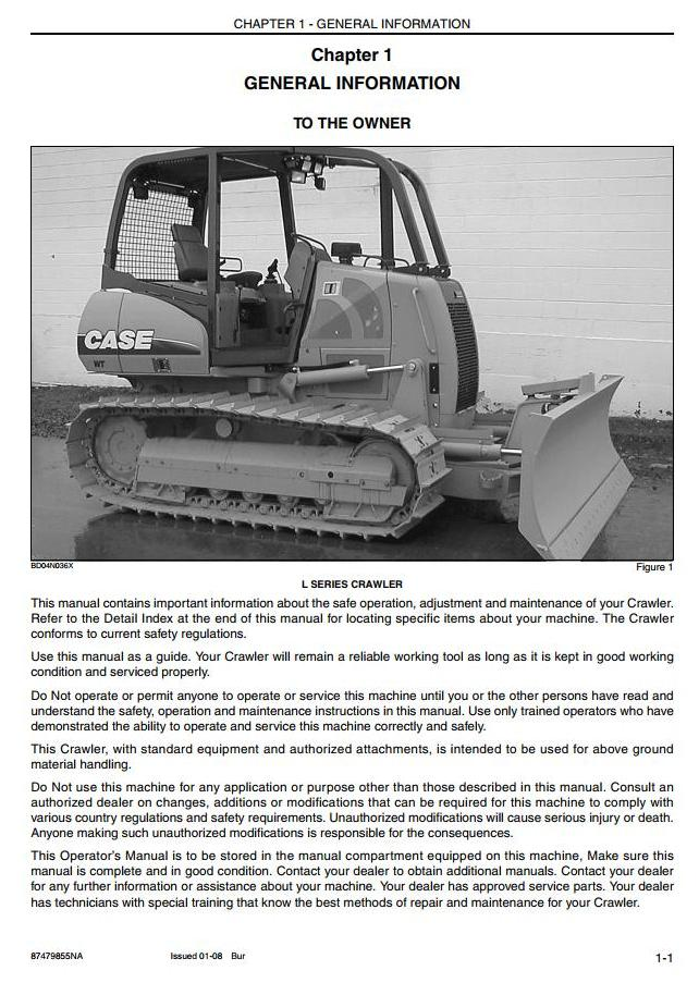 Case CX350C (Tier 4) Crawler Excavator Operating and Maintenance Instructions - 2