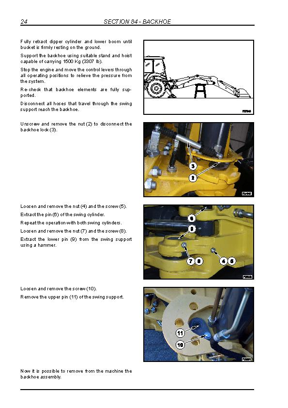 New Holland B90B, B95B, B95BLR, B95BTC, B110B, B115B Tier 3 Backhoe Loaders Service Manual - 3
