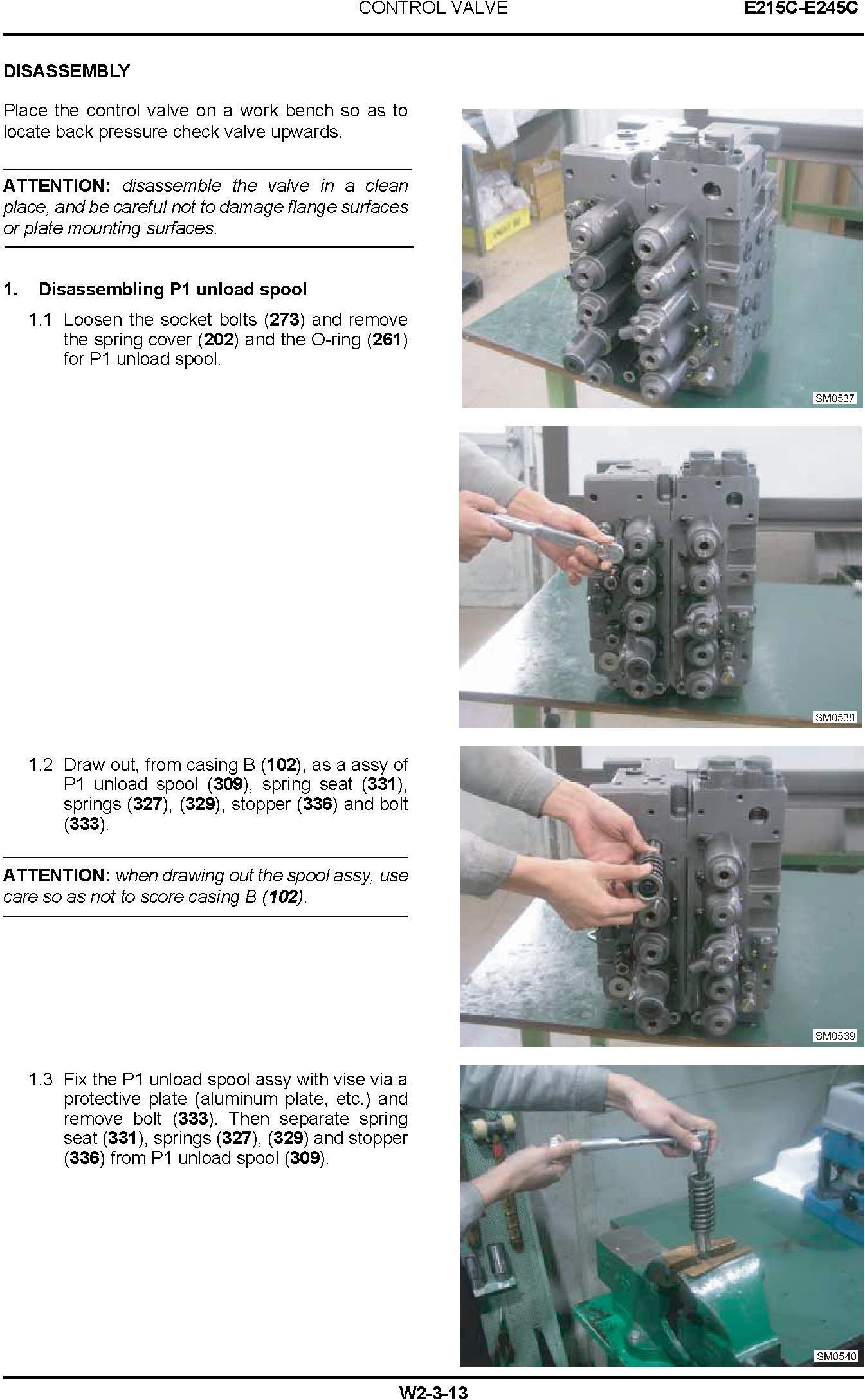 New Holland E215C, E245C Tier IV Crawler Excavators Service Manual (10-2011) - 3