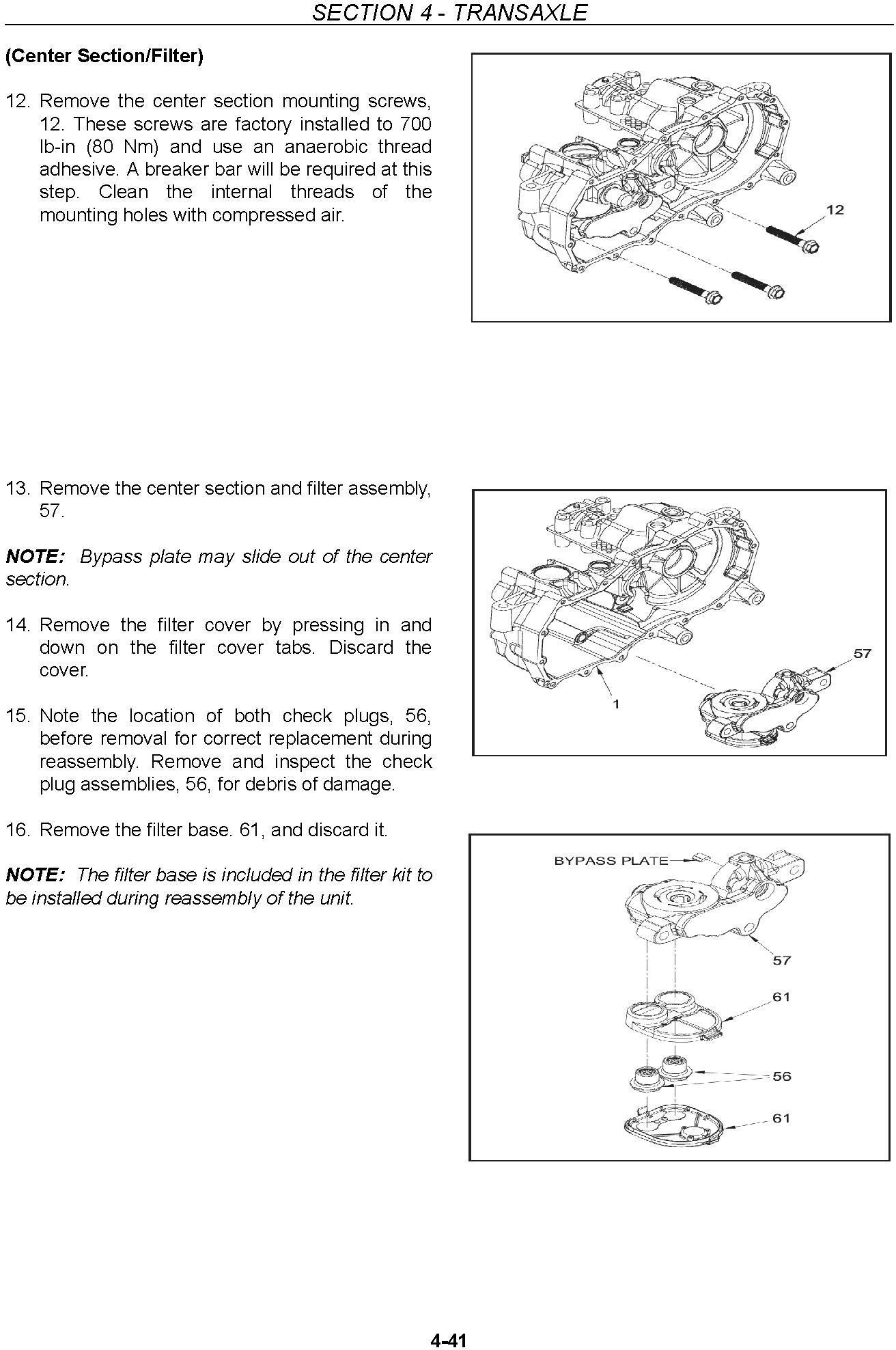 New Holland MZ14H MZ16H MZ18H Zero Turn Radius Mower Service Manual - 3