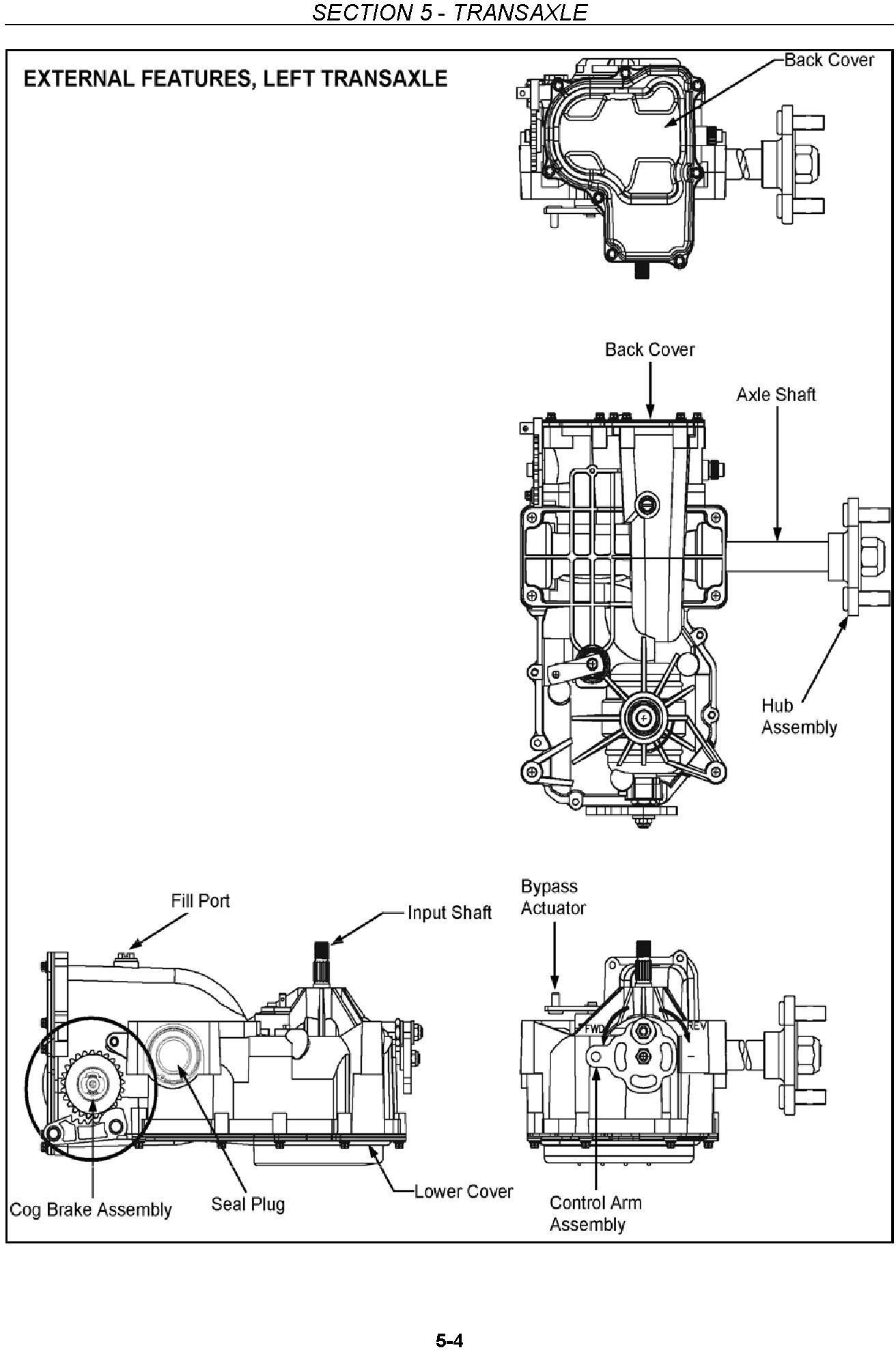 New Holland MZ19H Zero Turn Radious Mower Service Manual - 2
