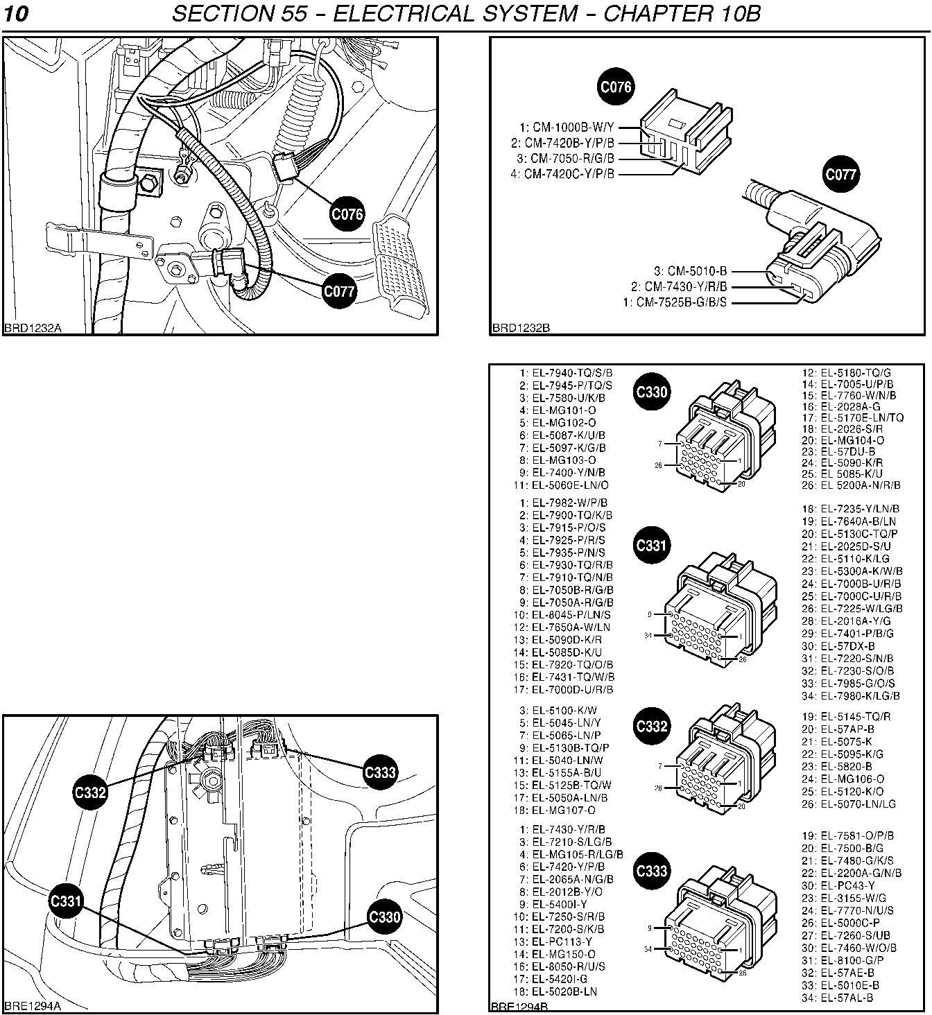 new holland tm120 125 130 140 150 155 tm175 tm190 tractor fault codes diagnostic service manual truck service manual store