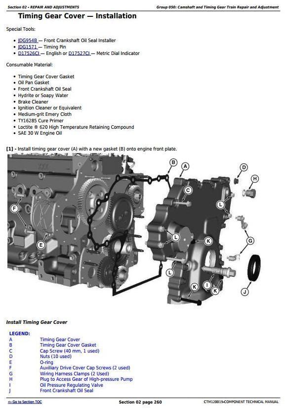PowerTech 6068 Diesel Engines (Final Tier 4/Stage IV platform) Lev.33 ECU Servicel Manual(CTM120019) - 2