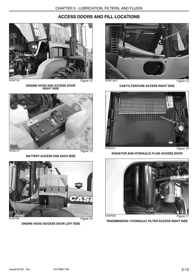 Case 721E, 821E (Tier 3) Front Loader Operating and Maintenance Instructions - 2