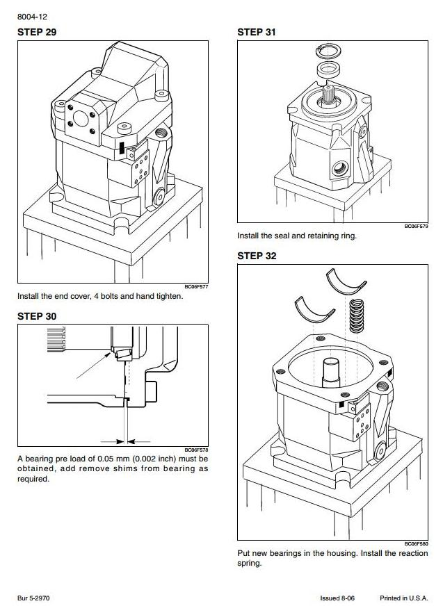 Case 721E Tier 3 Front Loader Workshop Service Manual and Wiring Diagrams - 2