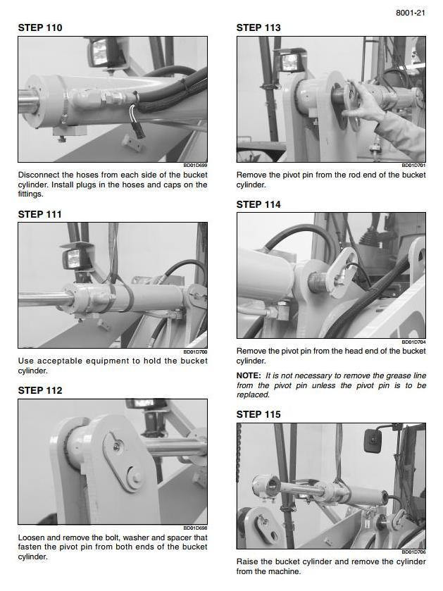 Case 821F, 921F Tier 4 Wheeled Front Loader Workshop Service Manual - 3