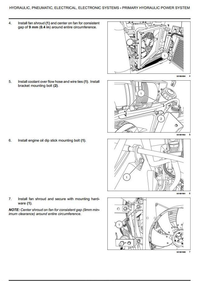 Case SR130/150/175/200/220/250, SV185/250/300 Skid Steer; TR270/320/380 Track Loader Service Manual - 1