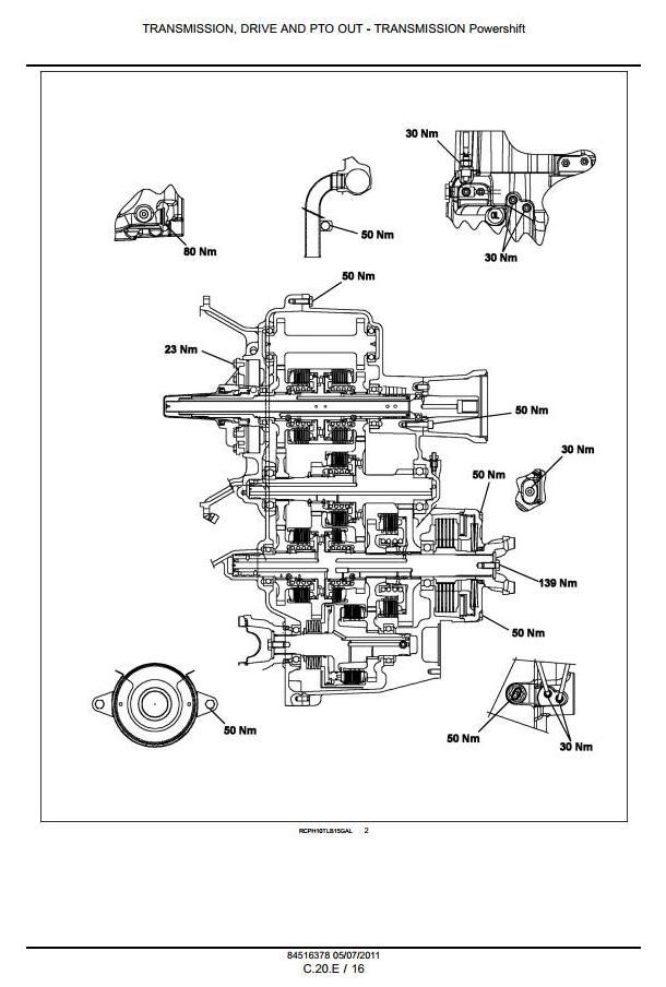 Case 580N, 580SN, 580SN-WT, 590SN Backhoe Loader Workshop Service Manual - 2