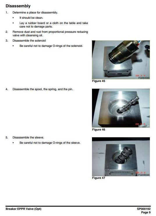 Doosan DX140W, DX160W (SN. from 5001) Wheeled Excavator Workshop Service Manual - 3