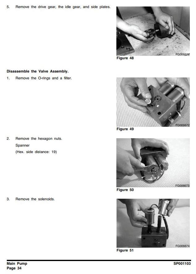 Doosan DX27Z (SN. from 5001) Excavator Workshop Service Manual - 2