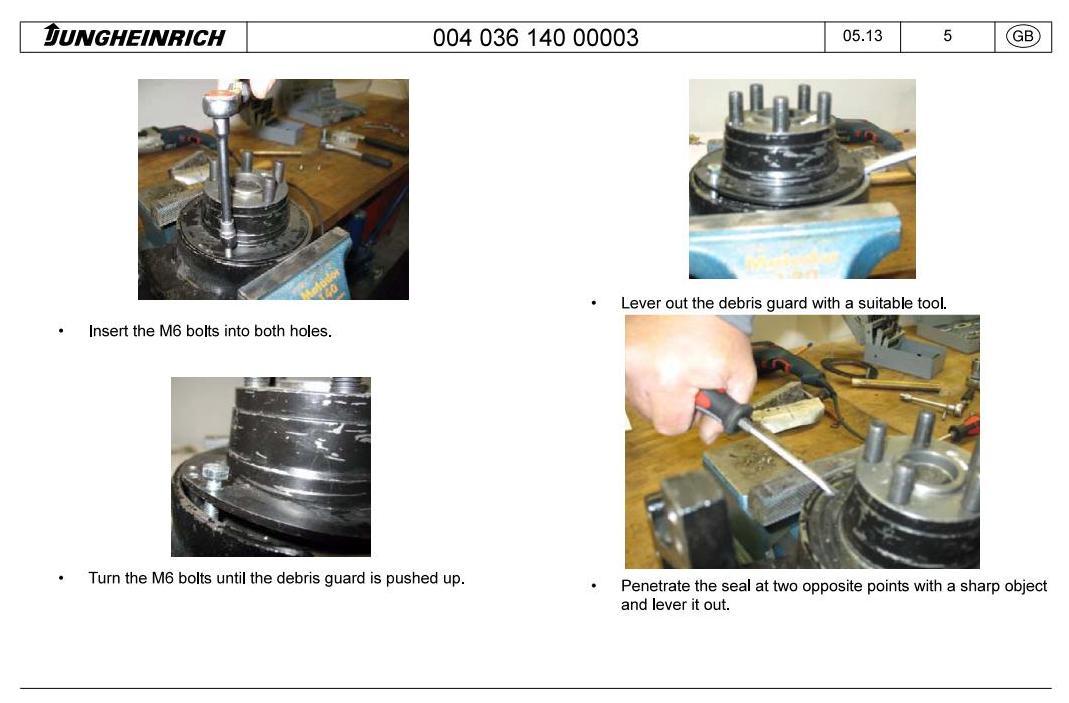Jungheinrich EKS 110 (07.2004-03.2009) Order Picker Workshop Service Manual - 2