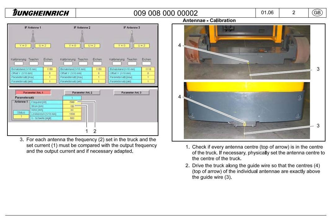 Jungheinrich EKX-410 (11.2003-05.2012) Electric Three-way OrderPicker Workshop Service Manual - 3