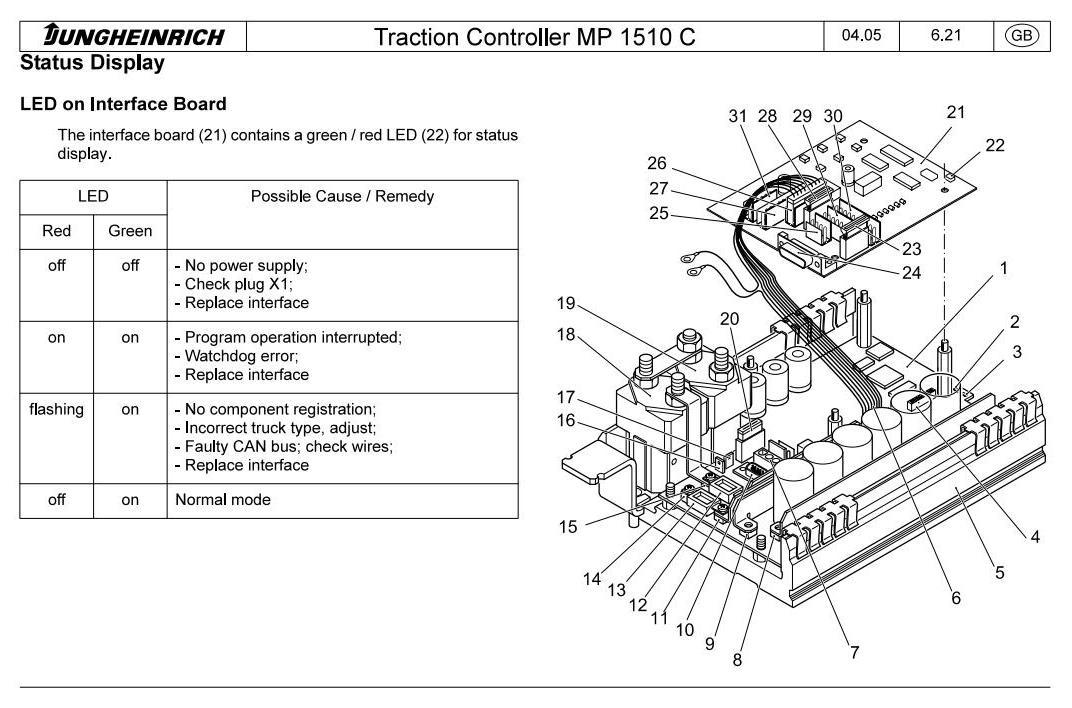 Jungheinrich ERC212, ERC214, ERC216, ERC Z12, ERC Z14, ERC Z16 Pallet stacker Service Manual - 2