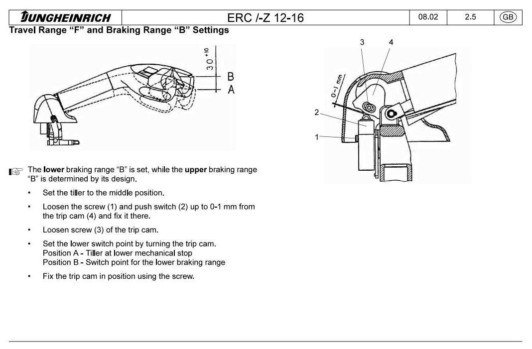 Jungheinrich ERC212, ERC214, ERC216, ERC Z12, ERC Z14, ERC Z16 Pallet stacker Service Manual - 3