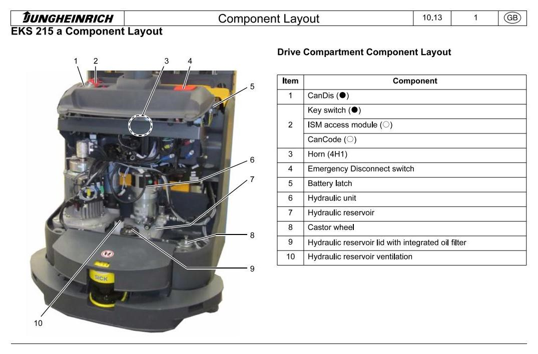 Jungheinrich ERC 215a (from 12.2012) Electric stacker Workshop Service Manual - 3