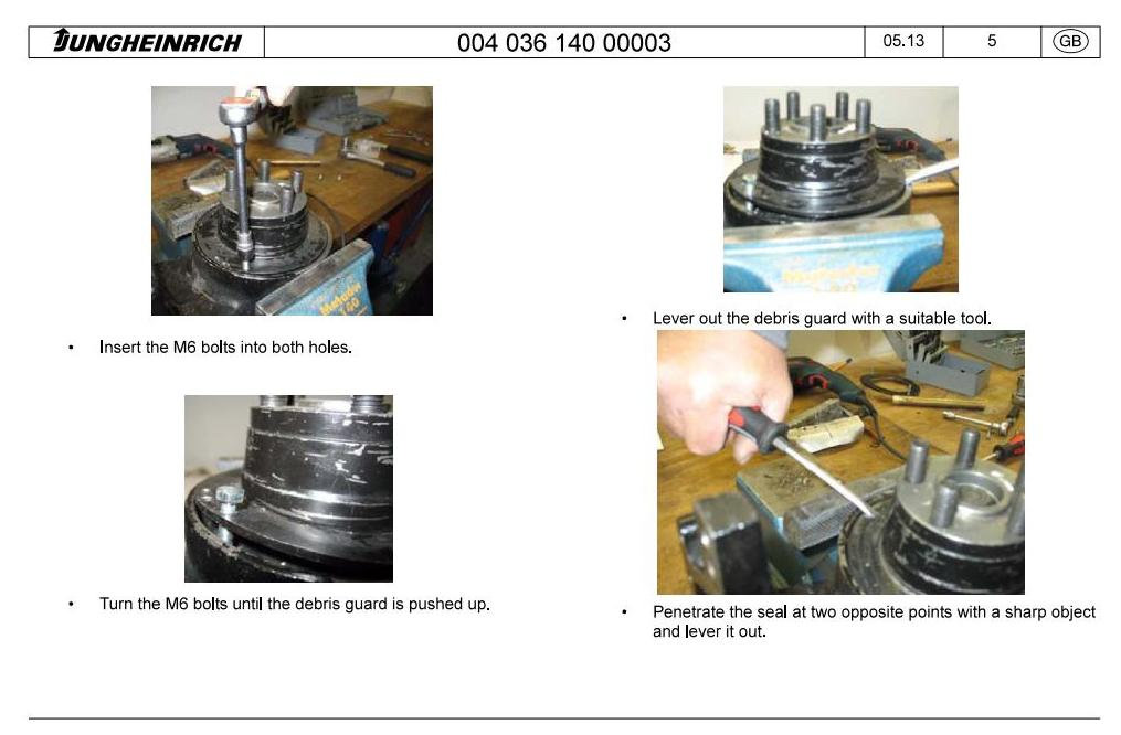 Jungheinrich ERD 220 Co (from 07.2010) Electric stacker Workshop Service Manual - 2