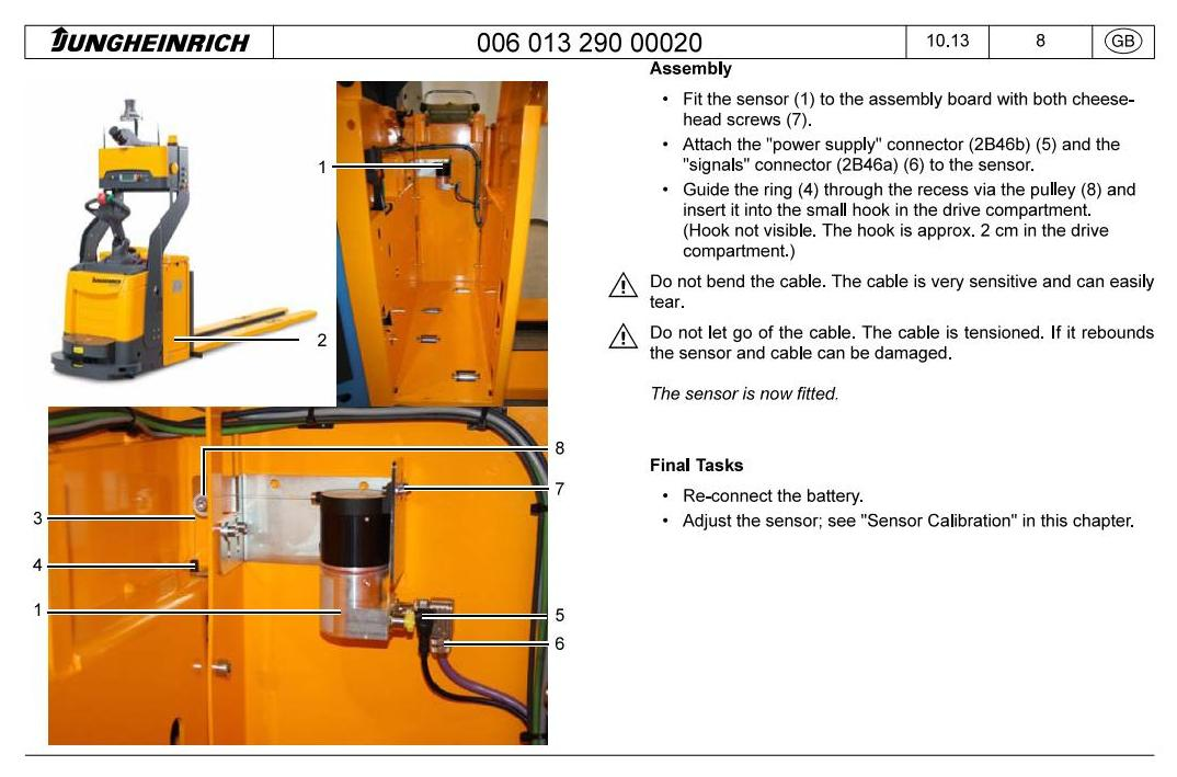 Jungheinrich ERE 225a (from 10.2013) Electric Pallet Mover Workshop Service Manual - 1