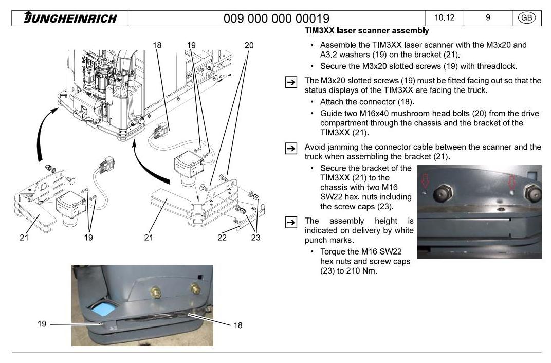 Jungheinrich ERE 225a (from 10.2013) Electric Pallet Mover Workshop Service Manual - 3