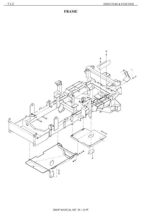 Doosan / Moxy MT27, MT30, MT30R, MT30S Articulated Dump Truck Workshop Service Manual - 2