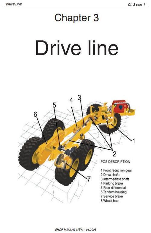 Doosan / Moxy MT36 Articulated Dump Truck Workshop Service Manual - 1