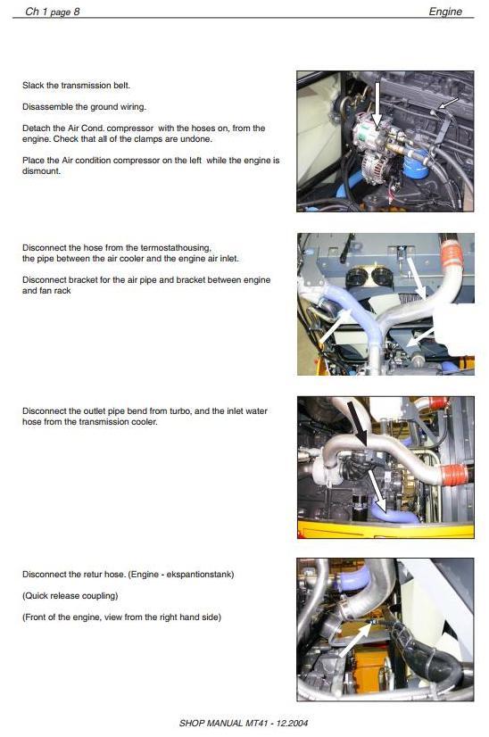 Doosan / Moxy MT41 Articulated Dump Truck Workshop Service Manual - 2