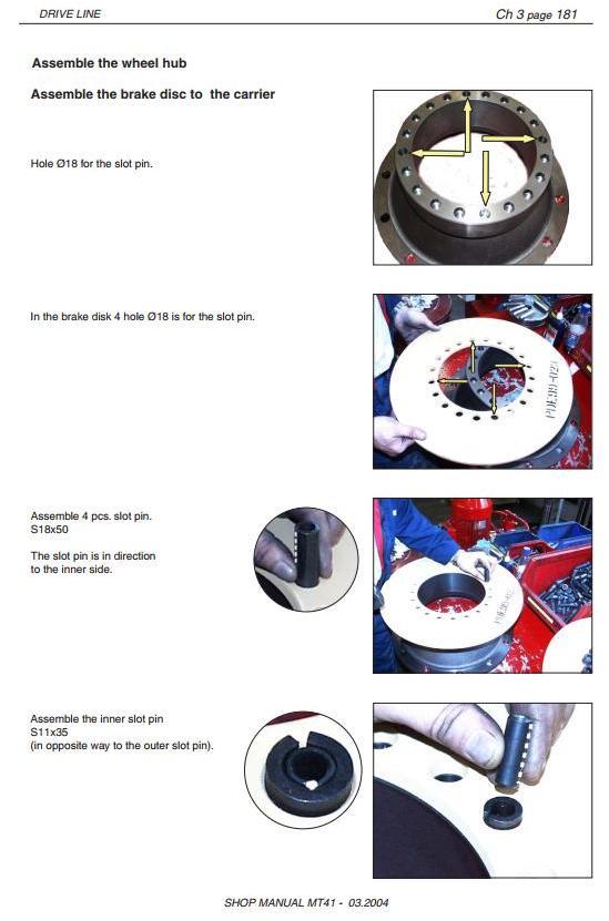 Doosan / Moxy MT41 Articulated Dump Truck Workshop Service Manual - 3