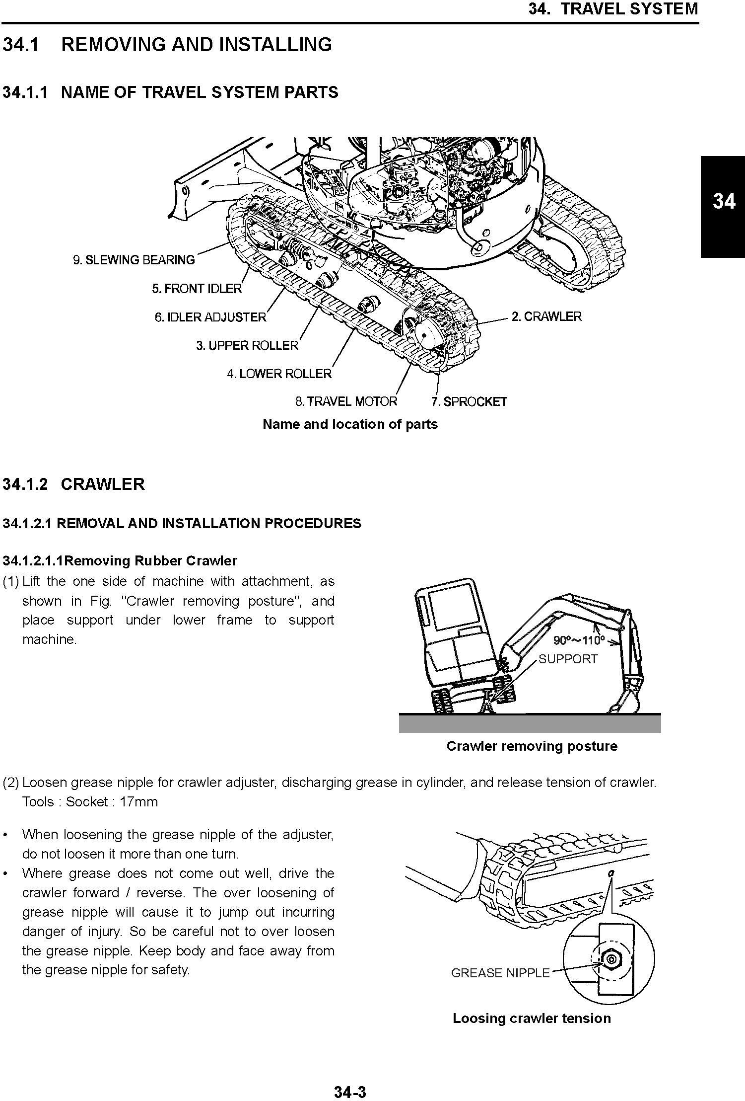 New Holland E30B, E35B Compact Hydraulic Excavator Service Manual - 3
